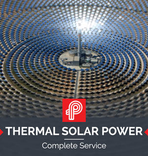 Thermal Solar power heat trace