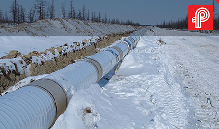 heat trace stop freezing on pipelines